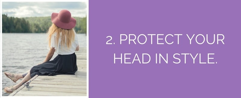 sun safety tips protective hats
